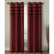 VCNY Wakefield Grommet Single Curtain Panel & Reviews | Wayfair