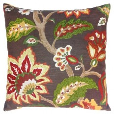 Decorative Pillow Red Floral - Threshold? : Target