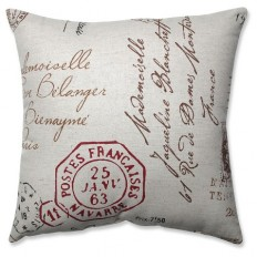 French Postale Toss Pillow Collection : Target