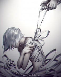 Come Undone by yuumei on DeviantArt