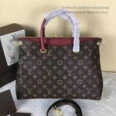 Louis Vuitton Monogram Canvas Pallas Raisin M41599