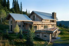 Modern Meets Rustic In This Eco-Friendly Mountain Home – Enpundit