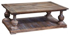 Bassett Mirror T2618-100 Hitchcock Rectangular Cocktail Table - Coffee Tables - by Beyond Stores
