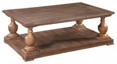 Hitchcock Rectangular Coffee Table - Farmhouse - Coffee Tables - by BASSETT MIRROR CO.