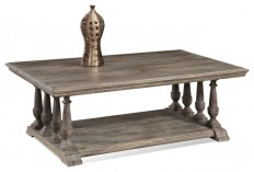 Pemberton Rectangular Cocktail Table - Traditional - Coffee Tables - by Carolina Rustica
