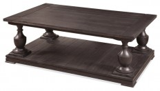 Hanover Rectangle Cocktail Table - Farmhouse - Coffee Tables - by BASSETT MIRROR CO.