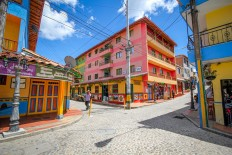 Colorful Street Photography Of Guatapé, Colombia by Jessica Devnani