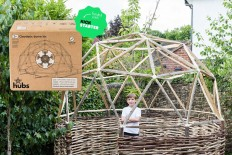 2v geodesic dome kit creates an outdoor structure | Designboom Shop