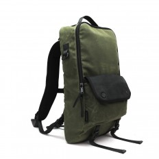 Bookpack - 3sixteen 2016 Special Edition Waxed Canvas - Olive - DSPTCH