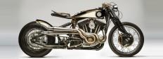 harley davidson sportster 883 'opera' custom motorcycle by south garage