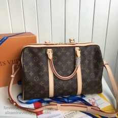 Louis Vuitton Monogram Canvas Keepall Bandouliere 35 M42426
