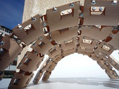 New Prosthesis: Bent Wood Exoskeletons | Joel Letkemann | Archinect
