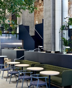 Melbourne Restaurant with Exposed Brickwork - InteriorZine