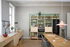 Apartment Renovation in Vienna by Kombinat - InteriorZine