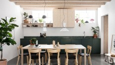 Family Home Located in a Remodeled Workshop in the Stockholm - InteriorZine