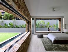 KAP House – Modern Tropical Living by ONG&ONG - InteriorZine