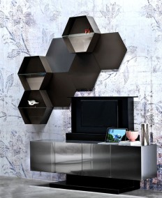 SOHO by Ronda Design – The Sideboard That Hides Your TV - InteriorZine