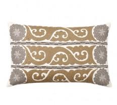 Wilhelmina Embroidered Suzani Pillow Cover   Pottery Barn