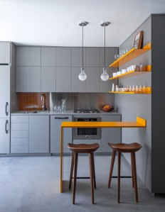 Venice Micro Apartment - Contemporary - Kitchen - Los Angeles - by Vertebrae Architecture