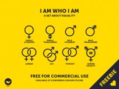 Free Gender Icon Set - Free Download | Freebiesjedi