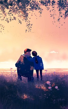 Pascal Campion, Once, they were young. -Ok sweet cheeks.. ready...