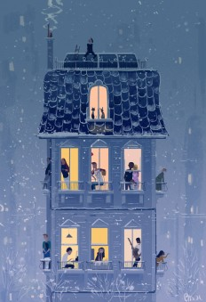 Pascal Campion, When the snow falls… It falls on everybody the...