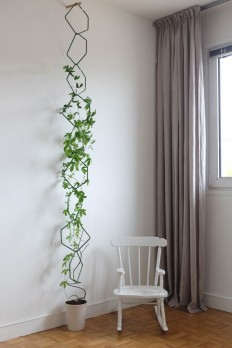 Just a concept photo, but an interesting modular design. You could make it out of coat hangers. | Gardening | Pinterest