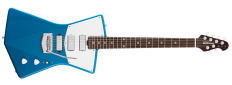 st. vincent + ernie ball signature electric guitar designed for the female body