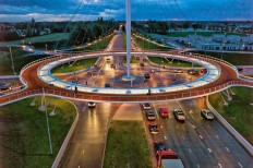 The Hovenring, Netherlands' Suspended Bike Roundabout, Is A Cyclist's Dream (PHOTOS)