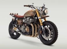 walking dead custom motorcycle by classified moto