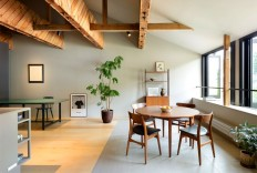 Timeless Organic and Elegant Kinosaki Residence by PUDDLE - InteriorZine