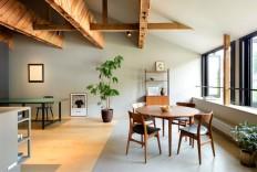 Timeless Organic and Elegant Kinosaki Residence by PUDDLE - InteriorZine