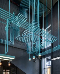 Co-Working Space Hubba-to by Supermachine Studio - InteriorZine