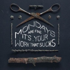 Typeverything.com - Mondays by Gosha Bondarev. -