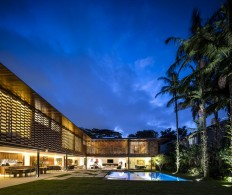 Tropical L-Shaped House by Jacobsen Arquitetura - InteriorZine