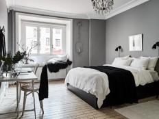 piso de 90 metros decorado en blanco y negro en suecia | Galería de fotos 17 de 17 | AD