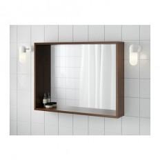 MOLGER Spiegel - donkerbruin - IKEA