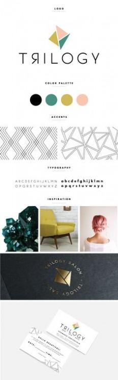 logo& design on Pinterest