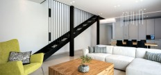 Semi-Detached House from the 1950's Remodeled by Amitzi Architects - InteriorZine
