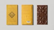 Beau Cacao Chocolate is Almost too Pretty to Eat (Almost) — The Dieline - Branding & Packaging Design