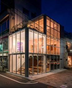 All-Glass Soup Restaurant in Tokyo - InteriorZine