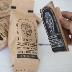 Awesome Coffee Packaging on Inspirationde