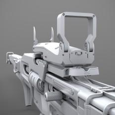 ArtStation - Destiny:Sniper Rifle(Fan Art), Ivan Lavretsov