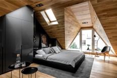 Raca Architekci Rebuild the Attic to Modern Bedroom - InteriorZine