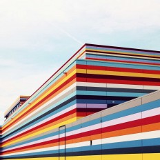The Vertical Lines of Building Facades Around Europe by Sebastian Weiss
