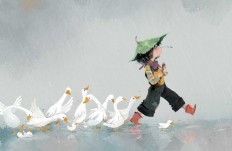 Cute Children Character Illustrations by Dung Ho