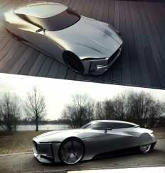 Jaguar E-Luxury Concept on