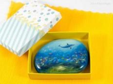 Miniature Oil Paintings on Stones by Yana Khachikyan