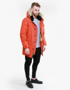 Hartland Down Expedition Parka in Orange - Penfield | Afura Store