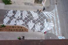 Creative Street Art by Peter Gibson